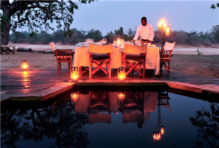 Plunge Pool and Dinner