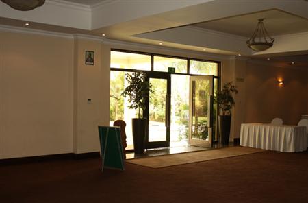 Conference Building Entrance