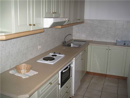 Philippos Apartments, Kassiopi, Corfu (kitchen)