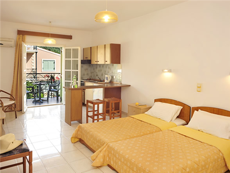 Philippos Apartments, Kassiopi, Corfu (bedroom 2)